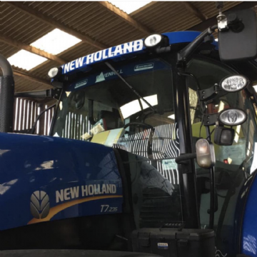 New Holland Cab Front